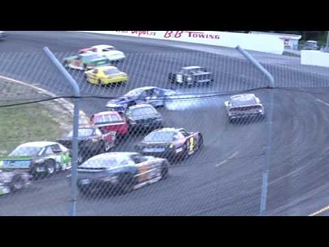 Sunset Speedway crash with Ryan Semple
