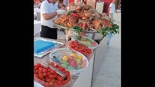 Турция Сиде Питание в Cesars hotel side 5 обзор отеля Пончики оладьи и лаваш с нутеллой