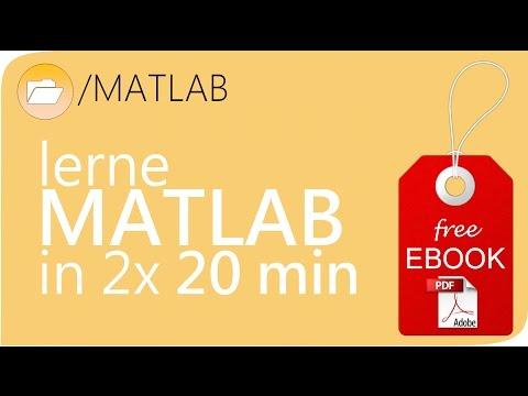 MATLAB Grundlagenkurs Teil 1 - MATLAB Tutorial deutsch / Einführung #SCIENZLESS