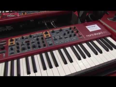 CLAVIA Nord Stage 2 EX Keyboard Musikmesse 2015 (deutsch)