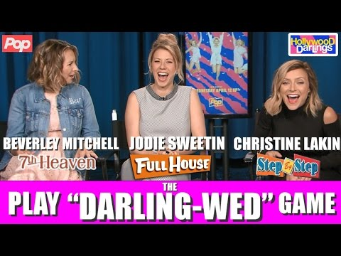 HILARIOUS HOLLYWOOD DARLINGS INTERVIEW! Jodie Sweetin, Christine Lakin, Beverley Mitchell