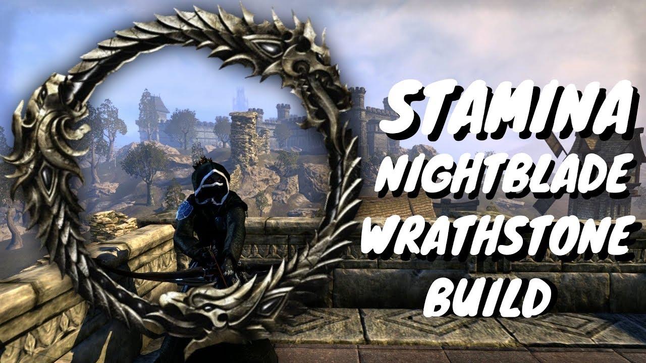 ESO - THE BEST WRATHSTONE STAMINA NIGHTBLADE BUILD - Nesquik Kid