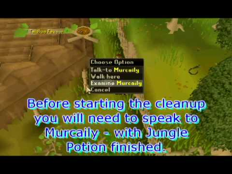 Runescape Guide - Tai Bwo Wannai Cleanup - Up To 600k Per Hour!