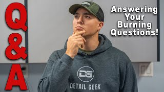 The Detail Geek Q & A - Answering All Your Burning Questions!