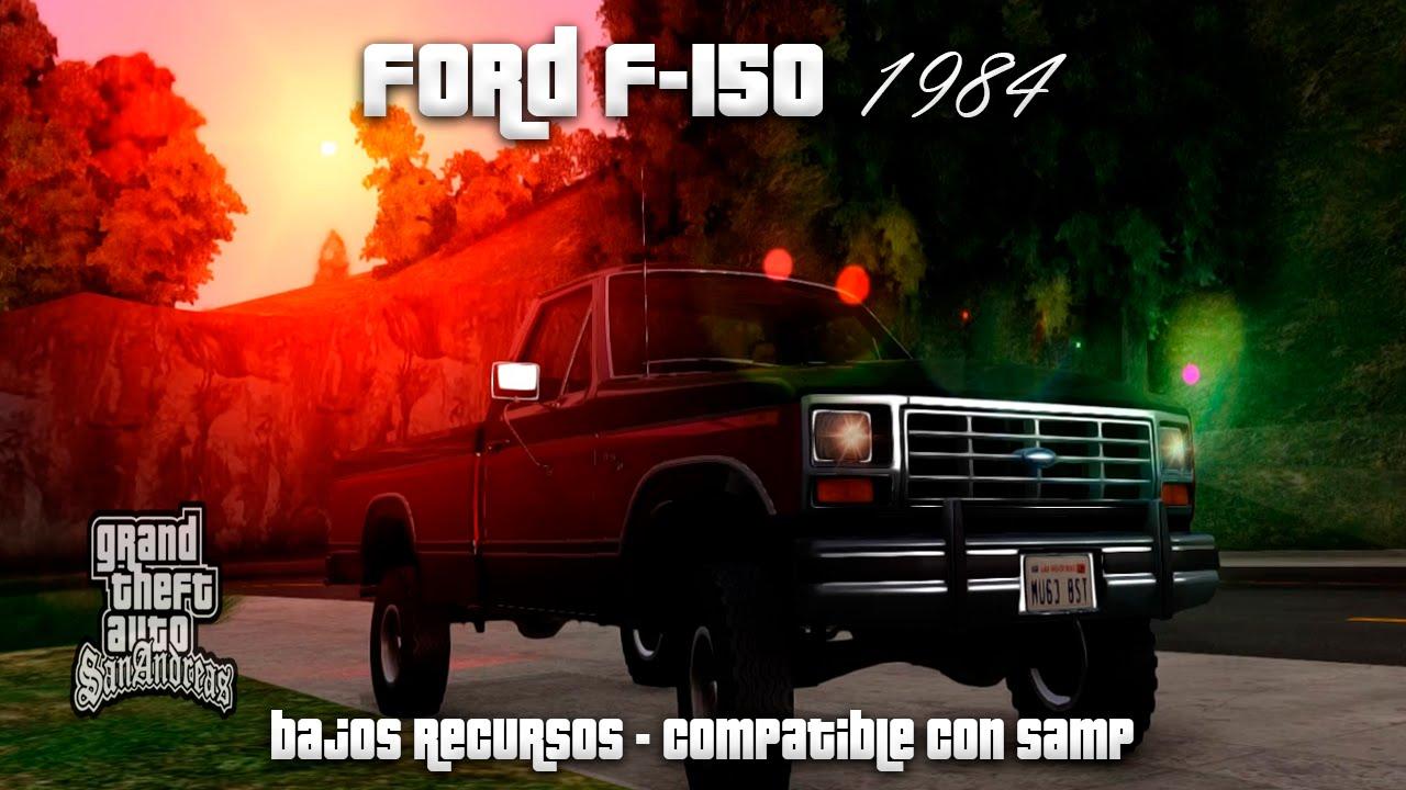 Ford F 150 1984 Para Gta San Andreas Youtube