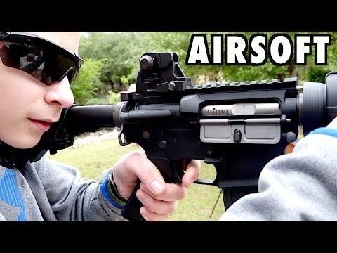 Airsoft Gameplay With The KWA Gas Blowback Airsoft Gun