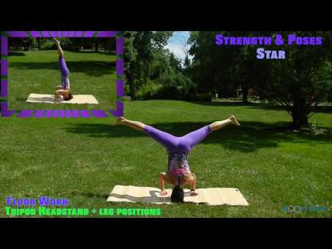 Acro Yoga Strength Drills || Maria Sollon Fitness