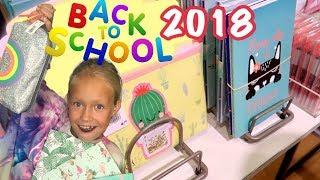 ✏️📚Покупаем ЯРКУЮ КАНЦЕЛЯРИЮ / Подготовка к BACK TO SCHOOL 2018/что купит школьник