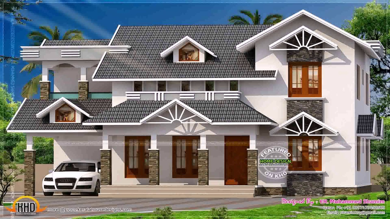 Kerala home design july 2015 youtube for Kerala home designs 2015