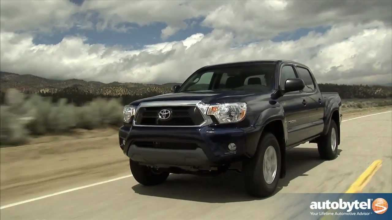 2012 Toyota Tacoma Test Drive U0026 Truck Review