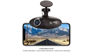 Dash Cam Powered by Nexar, 1080p Full HD, Cloud Storage for Video Clips