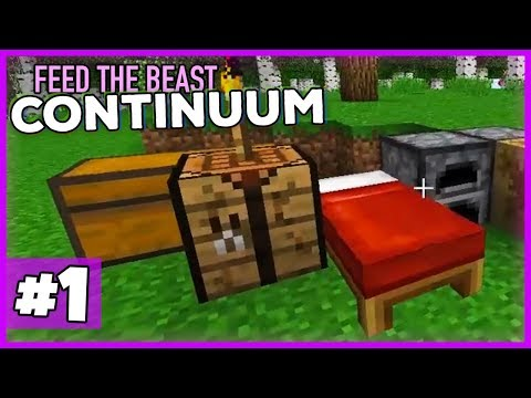 Das neue HARDCORE-Techpack von Feed the Beast!- Minecraft 1.12 FTB Continuum (Expert Pack) #01