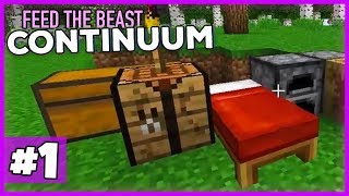 Das neue HARDCORE-Techpack von Feed the Beast!- Minecraft 1.12 FTB Continuum (Expert Pack) #01