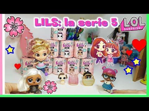 LOL Surprise Serie 5: LILS ...Vediamo chi Arriva! Unboxing Lol by Lara e Babou