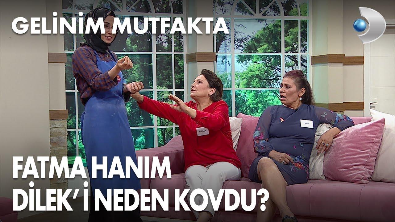Fatma Hanım, Dilek'i odadan kovdu! Gelinim Mutfakta 369. Bölüm