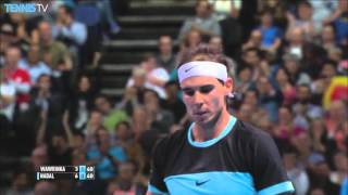 Nadal Threads The Needle Against Wawrinka