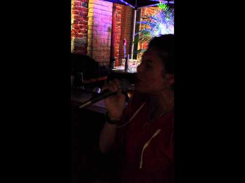 "Dani performs ""In The Air Tonight"" at Westbar Toronto"