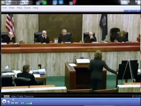 Tom Dvorak Idaho Supreme Court Oral Argument