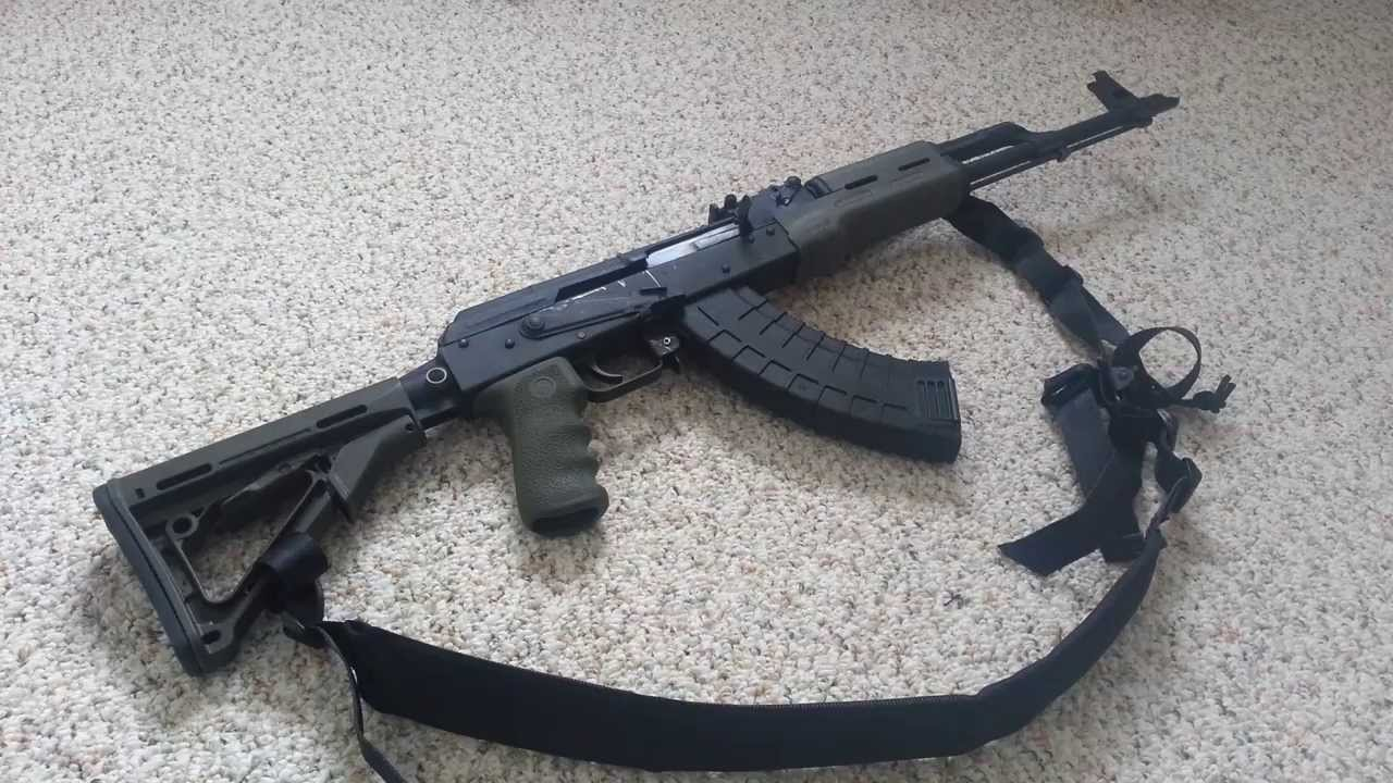 Ak47 tactical upgrades and wasr10/63 review