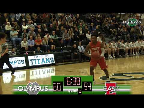 Olympus High School 2018 Broadcast Awards Submission - 3 Minutes of: Olympus Boys Varsity Basketball