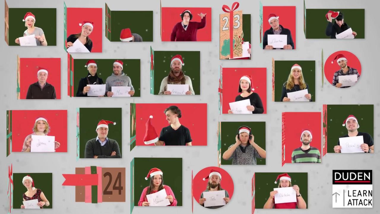 Weihnachten Duden.Duden Learnattack Wünscht Frohe Weihnachten