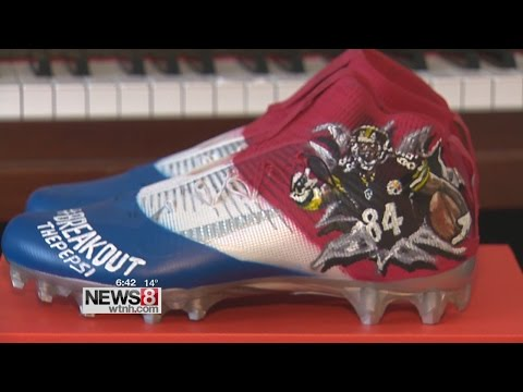 Cruisin' Connecticut – Corey Pane: The Artist Behind Flashy NFL Cleats