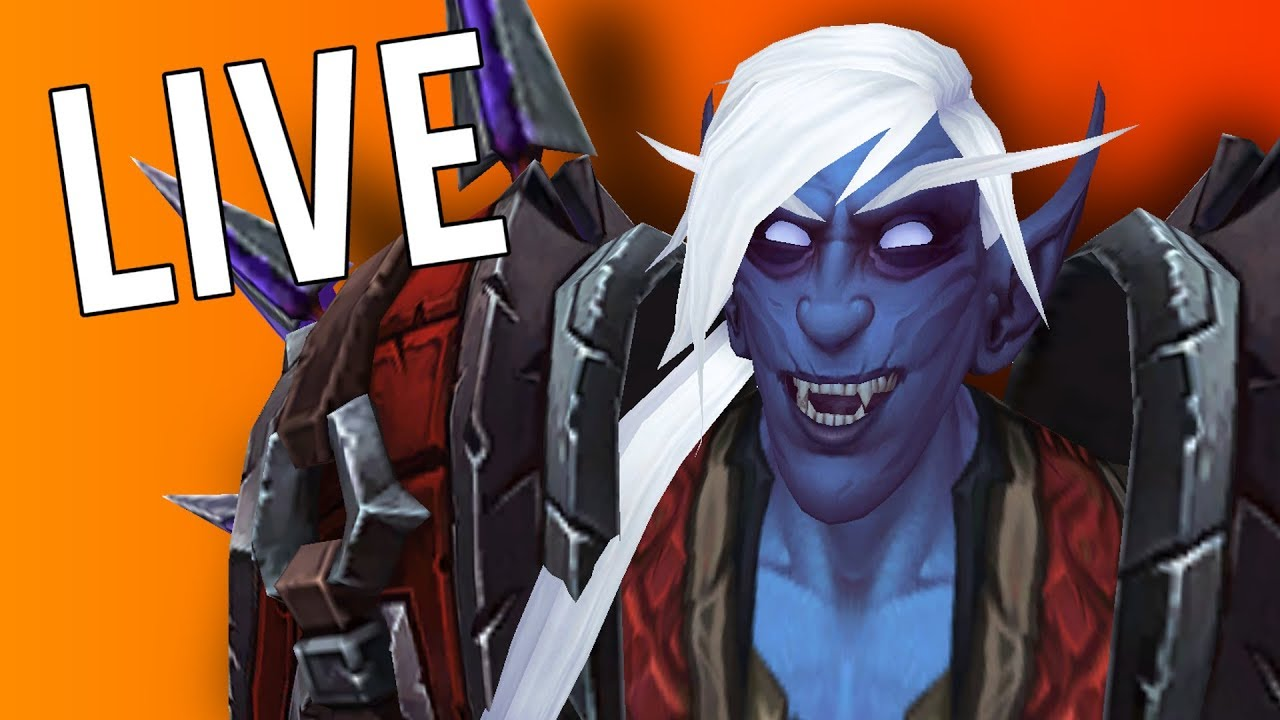 TUESDAY! FREE LOOT! LOTS OF UPGRADES! - WoW: Battle For Azeroth 8 2  (Livestream)