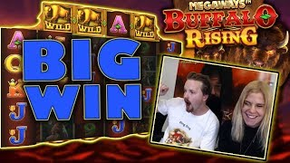 Big win in Buffalo Rising bonus buy!