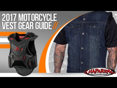 2017 Motorcycle Vest Gear Guide at ChapMoto.com