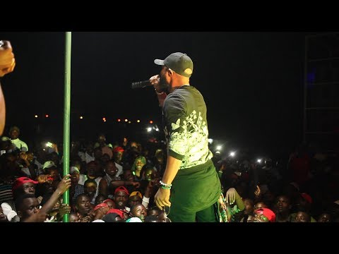 #indundi Tv|Mr Champagne on stage Bantu Bwoy Concert