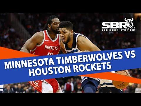 Minnesota Timberwolves vs. Houston Rockets | NBA Picks | With Joe Gavazzi
