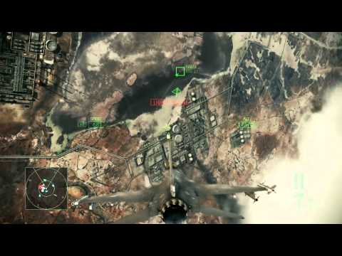 Ace Combat Assault Horizon :: (Mission 2) Inferno :: (HD) :: Difficulty Ace