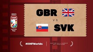 Highlights: GREAT BRITAIN vs SLOVAKIA | 2021 #IIHFWorlds