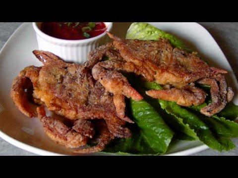 Soft Shell Crabs Tutorial & Recipe