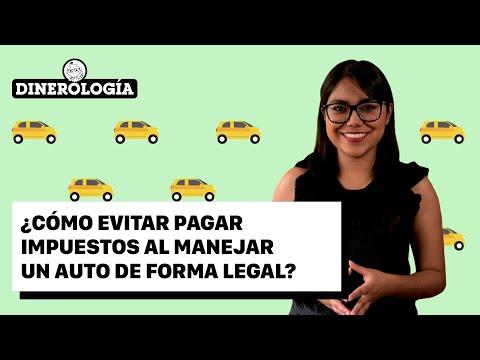 ¿Cómo evitar pagar impuestos al manejar un auto de forma legal?