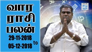 Weekly Horoscope 29-11 to 05-12-2018 The Hindu Tamil Show