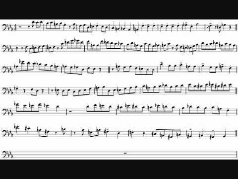 Bill Reichenbach 'H, I, Jay And Kai' Bass Trombone Solo Transcription
