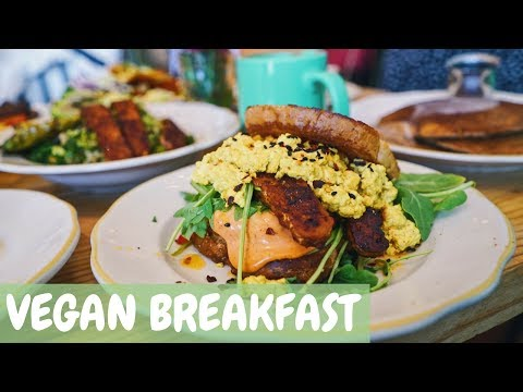 AMAZING VEGAN BREAKFAST IN LOS ANGELES