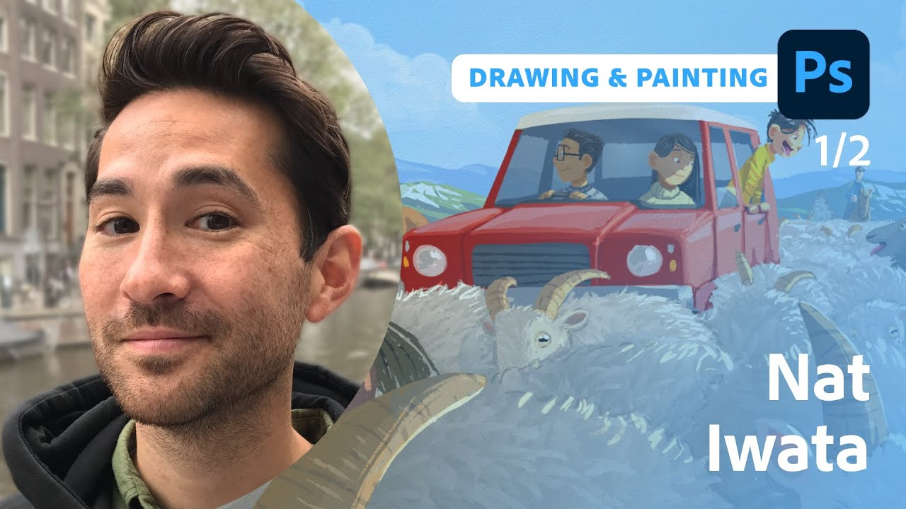 Illustrating for a Children's Book with Nat Iwata  - 1 of 2