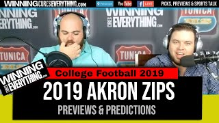 WCE: Akron Zips 2019 College Football Preview and Predictions