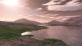 What would Exoplanet Kepler-186f look like?