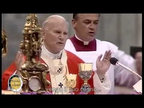 Pater Noster Juan Pablo II   1982