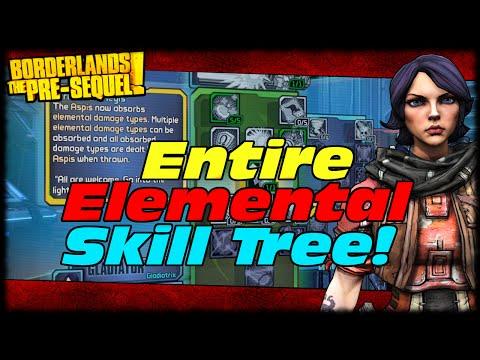 Borderlands The Presequel Athena's Ceraunic Storm Skill Tree Breakdown & Preview!
