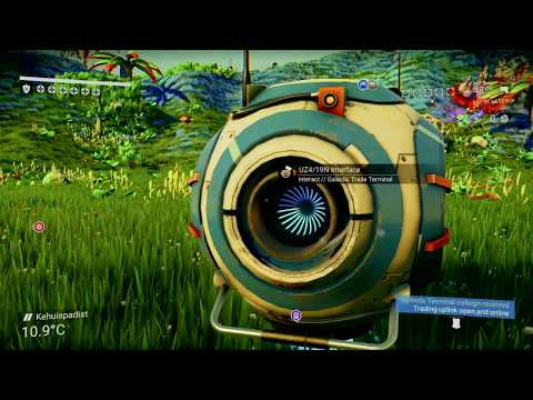 No Man's Sky - Exploration Part 70 No Commentary - Floating  Containers