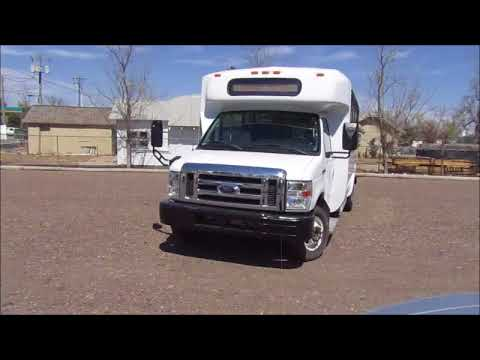 2010 Ford Econoline E450 shuttle bus for sale at auction | bidding closes May 1, 2018
