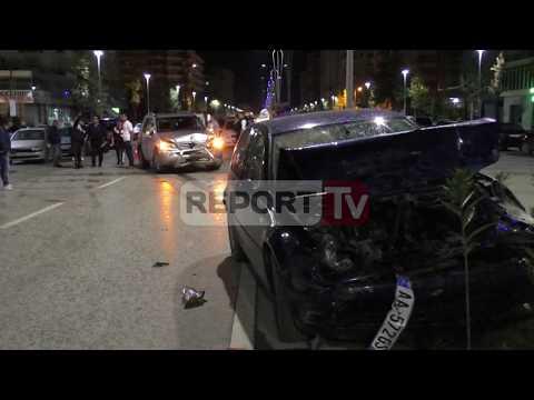 Report TV - Vlorë, aksident i rëndë te rruga Transballkanike, plagoset gruaja