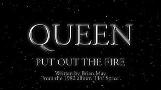 Queen - Put Out The Fire - (Official Lyric Video)