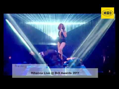 Breaking MAD: Rihanna @ The Brit Awards