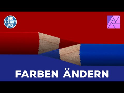 Affinity Photo - Farbe ändern (English Subtitles)