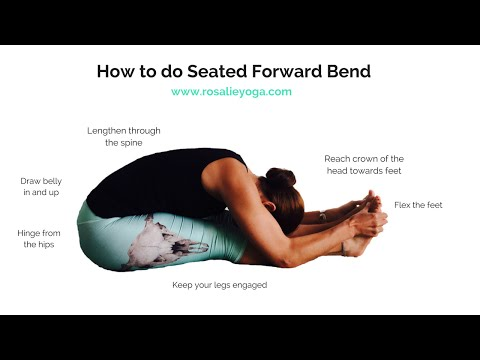 Beginners Yoga: How to do Seated Forward Bend